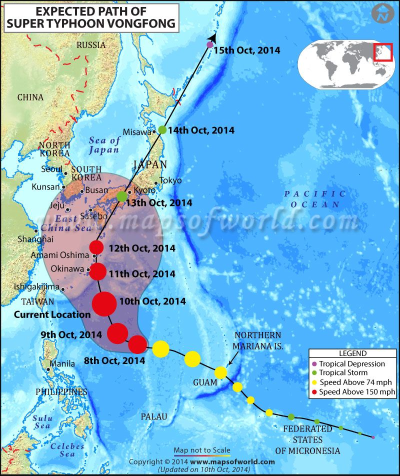 Super-Typhoon Vongfong strikes southern Japan, approaches Main - new taiwan world map images