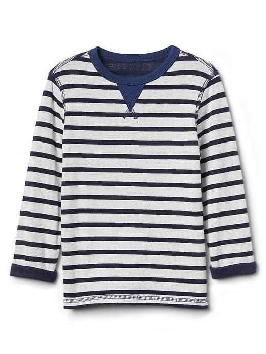 ee27ba141 Gap Baby Print Double-Knit Tee Elysian Blue | Products | Toddler boy ...