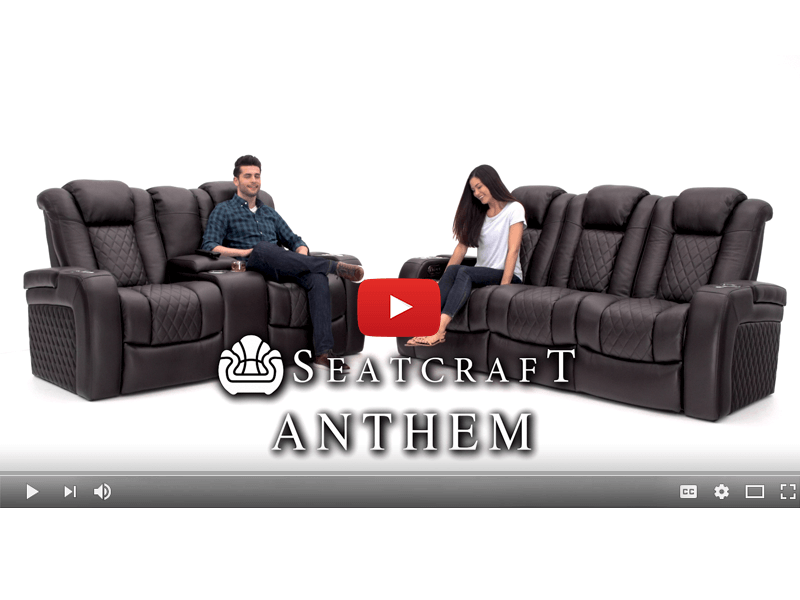 Awe Inspiring Seatcraft Anthem Sofa Top Grain Leather 7000 Powered Gmtry Best Dining Table And Chair Ideas Images Gmtryco