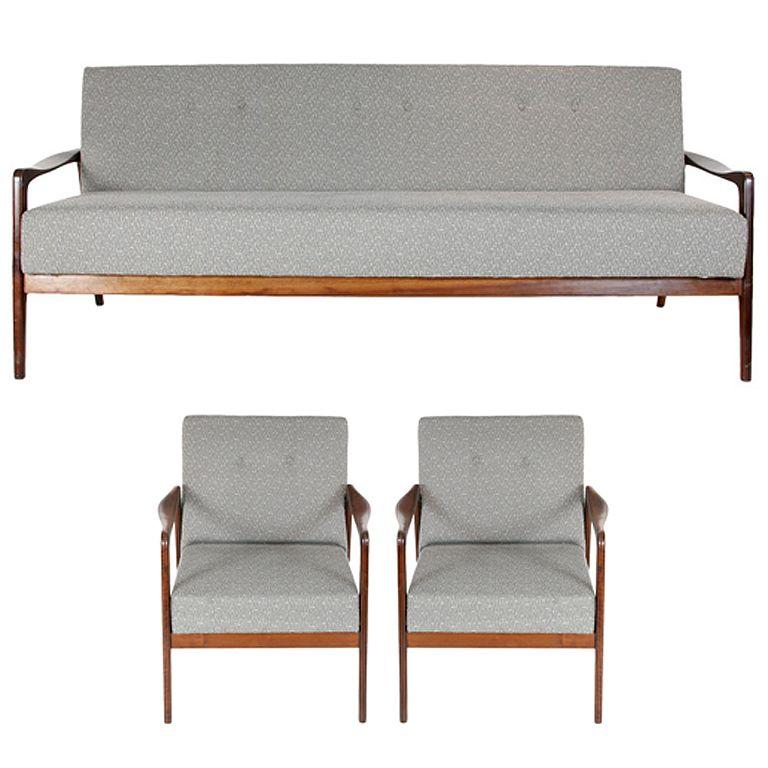 1960's Sofa bed set (3 Pieces)
