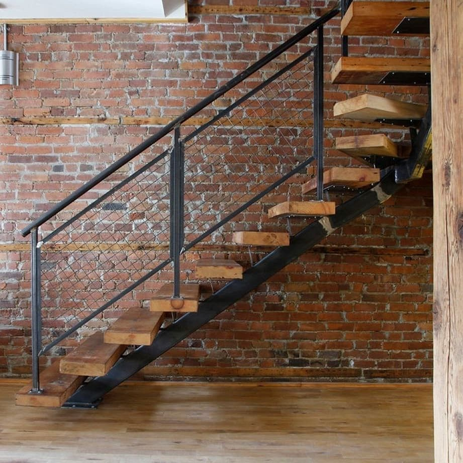 Suspended Style 32 Floating Staircase Ideas For The: Idea By Brian Vance On Back House Finishes