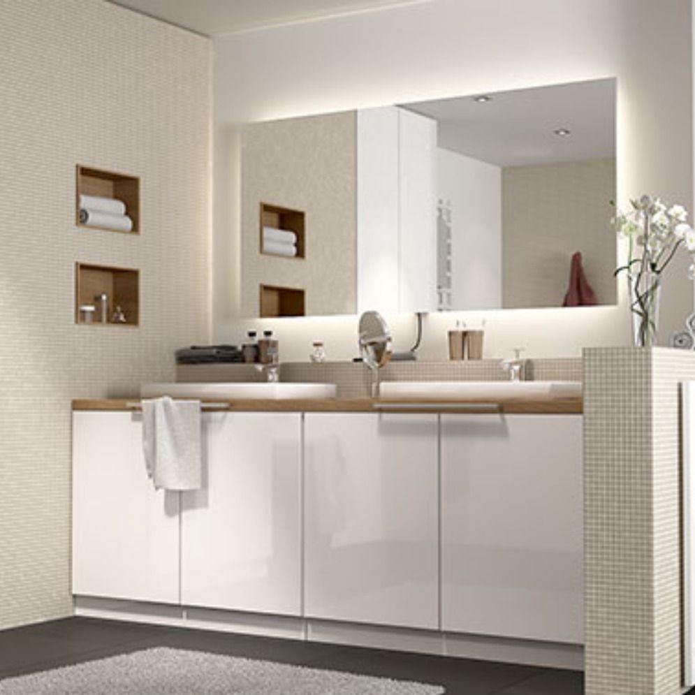 Badezimmerschrank In Seidenglanz Badezimmer Badezimmer Kommode Bad Kommode