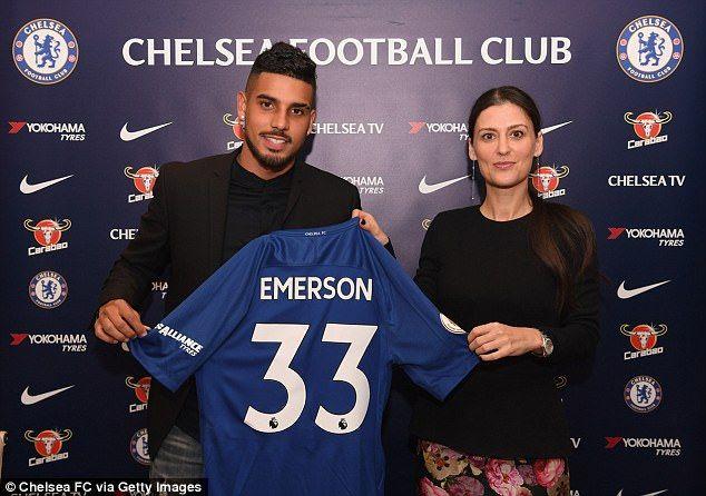 Chelsea Complete £17.5m Deal For Defender Emerson Palmieri