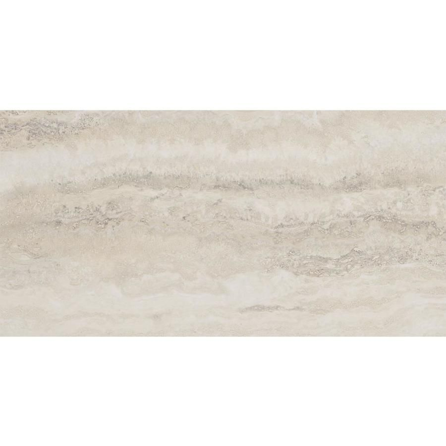 Style Selections 12 In X 24 In Groutable Oyster Travertine Peel And Stick Luxury Vinyl Tile Lowes Com Luxury Vinyl Tile Vinyl Tile Luxury Vinyl