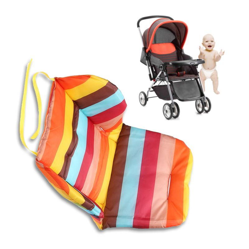 Soft Cotton Thick Warm Baby Pushchair Mat Stroller Pad Cart Liner Seat Cushion