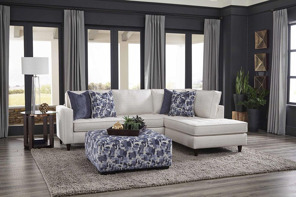 Albany Mcintosh Cotton Sectional Sofa 470 Savvy Discount