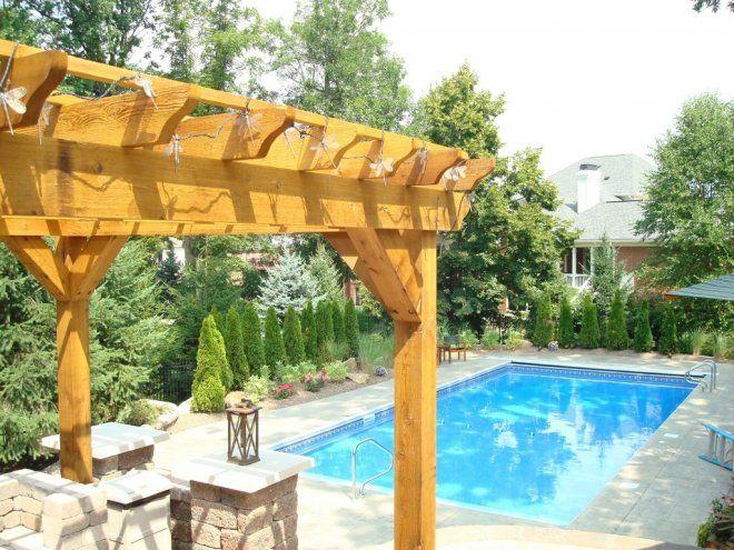 pool shrubs privacy