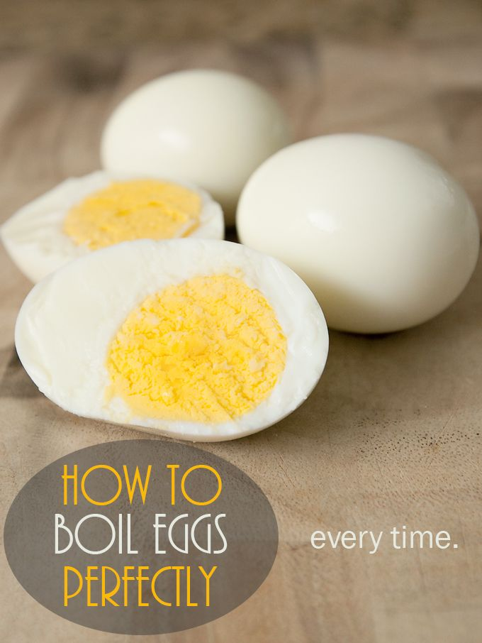 The Best Way To Boil Eggs - Brownie Bites Blog