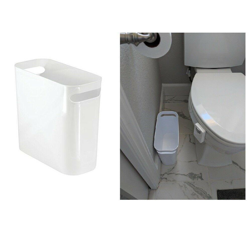 Garbage Can Garbage Can Ideas Garbage Can Garbagecan Skinny Bathroom Trash Can Small Narrow Spaces Wa Bathroom Trash Can Bathroom Waste Basket Garbage Can