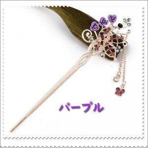 送料無料 かんざし 髪飾り レディース 着物 お祭り ヘアアクセサリー
