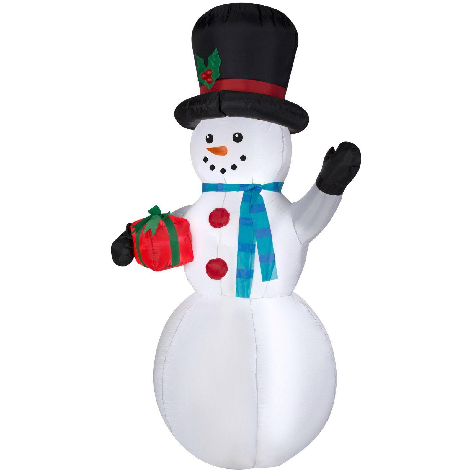 christmas giant inflatable snowman 7ft tall