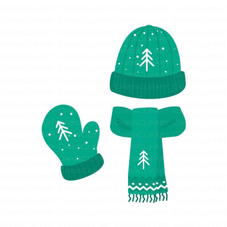 Winter Clipart Bundle Winter Hat Scarf Mitten Clip Art Jpg Png Svg Files Snowman Clipart Winter Graphics Snow Clipart Winter Clipart Winter Hats Snowman Clipart