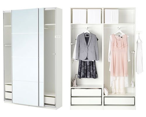 Armario Pax blanco, en Ikea | - House&Home Decoration - | Pinterest ...
