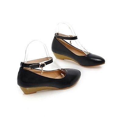 Women's Shoes PVC / Leatherette Low Heel Heels Heels Wedding / Office &  Career / Dress