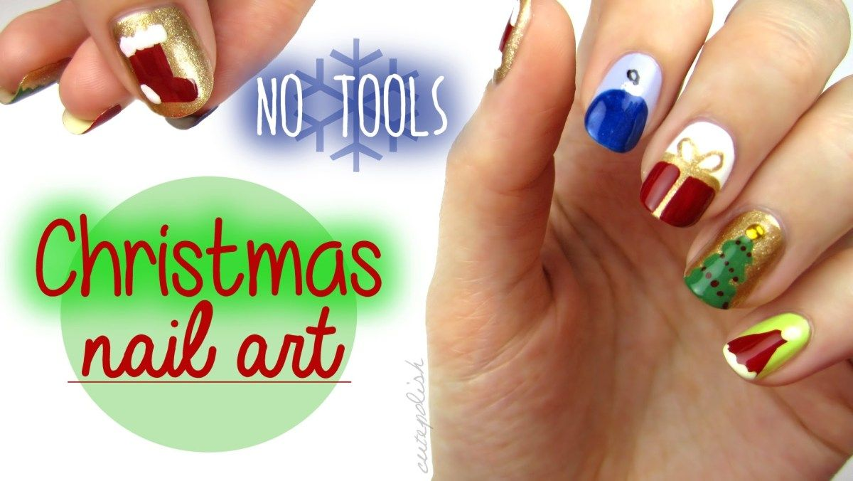 Nail art for christmas the no tool guide beauty nails community 14 glam st day nail art designs you can do yourself photos solutioingenieria Images