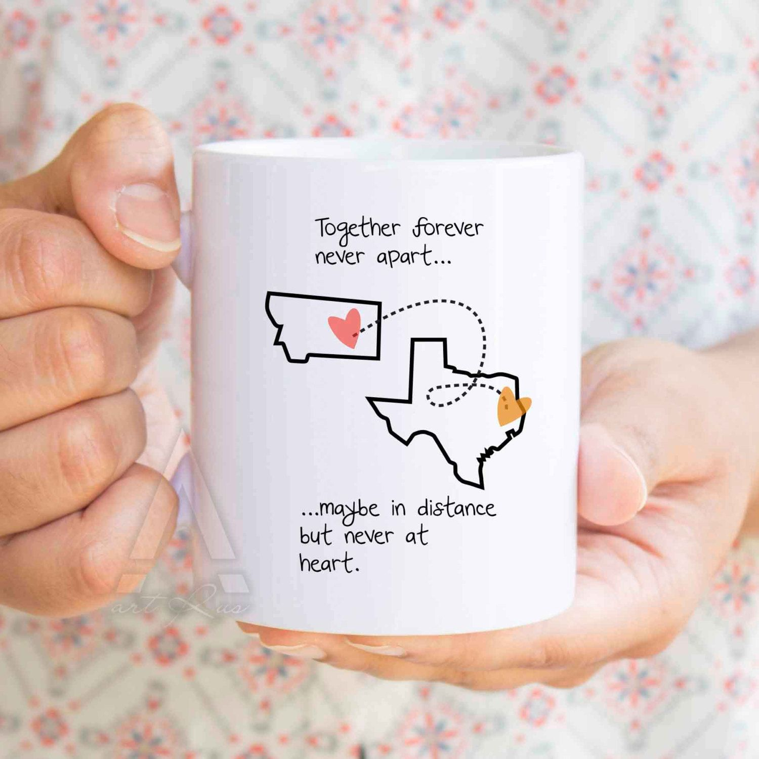 Long Distance Relationship Gifts For Boyfriend Birthday Ldr Him Valentine MU316 By