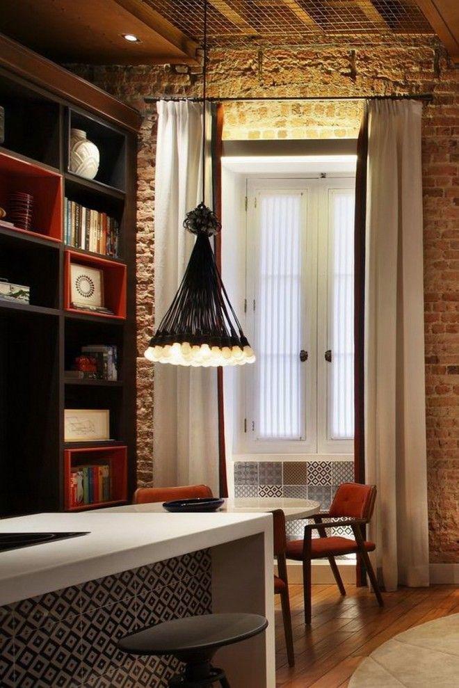 LUIZ FERNANDO GRABOWSKI | Lofts, Modern colors and Hanging lights