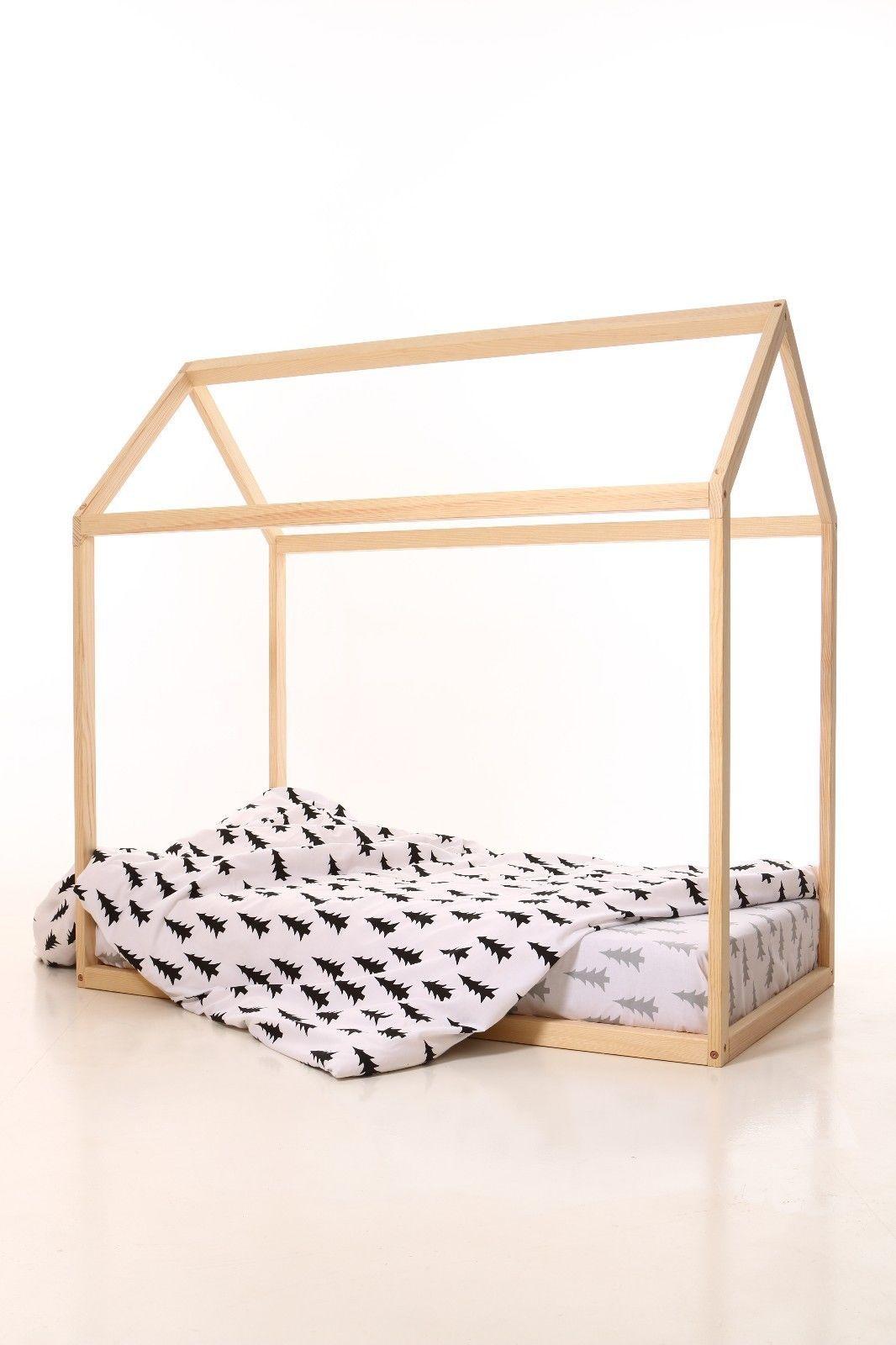 190x90cm house bed frame toddler bed bed home nursery wood house frame bed - Ebay Bed Frames