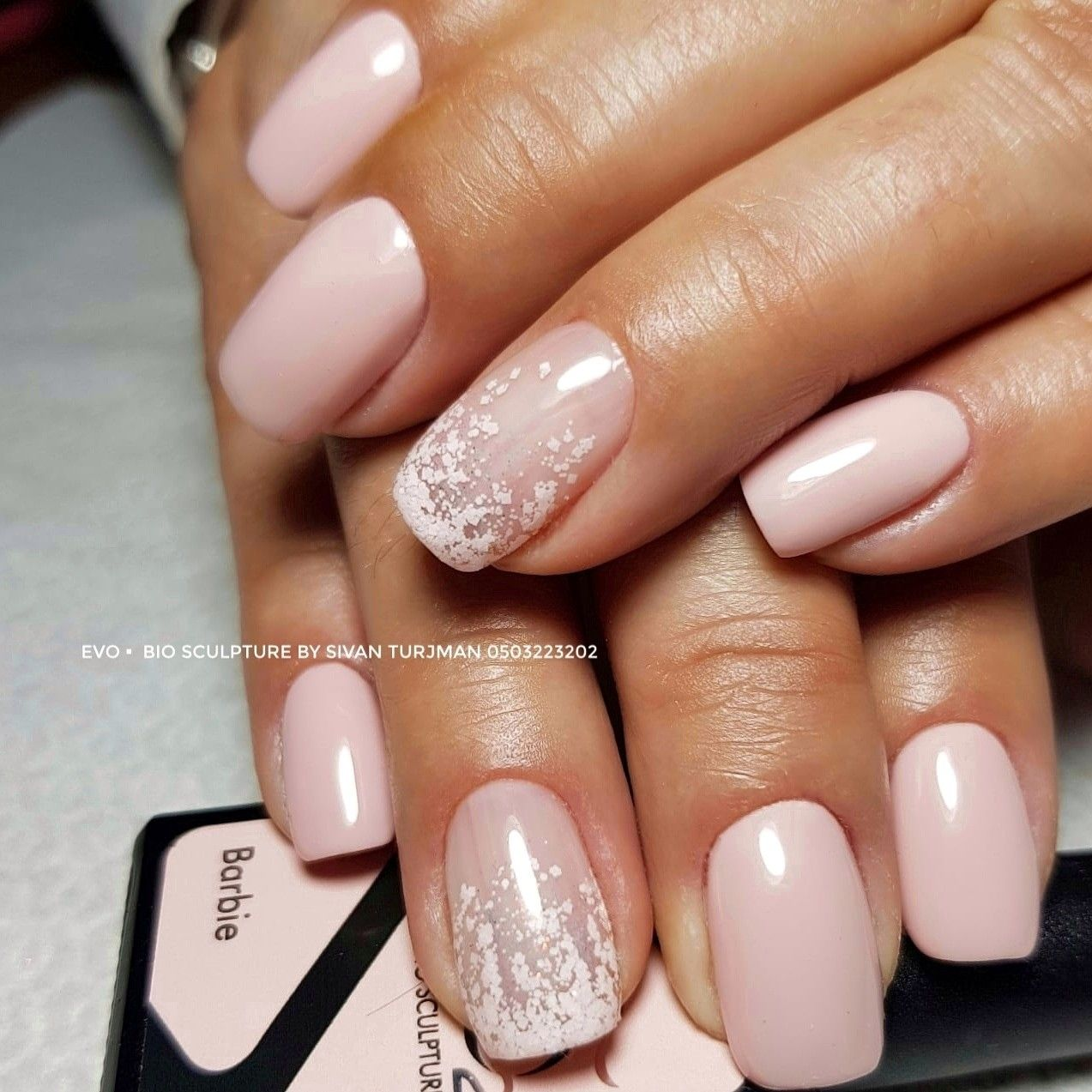 French Ombre Done With Bio Sculptures Nail Art Kit Bio Gel Nails Gel Nails French Bio Sculpture Nails