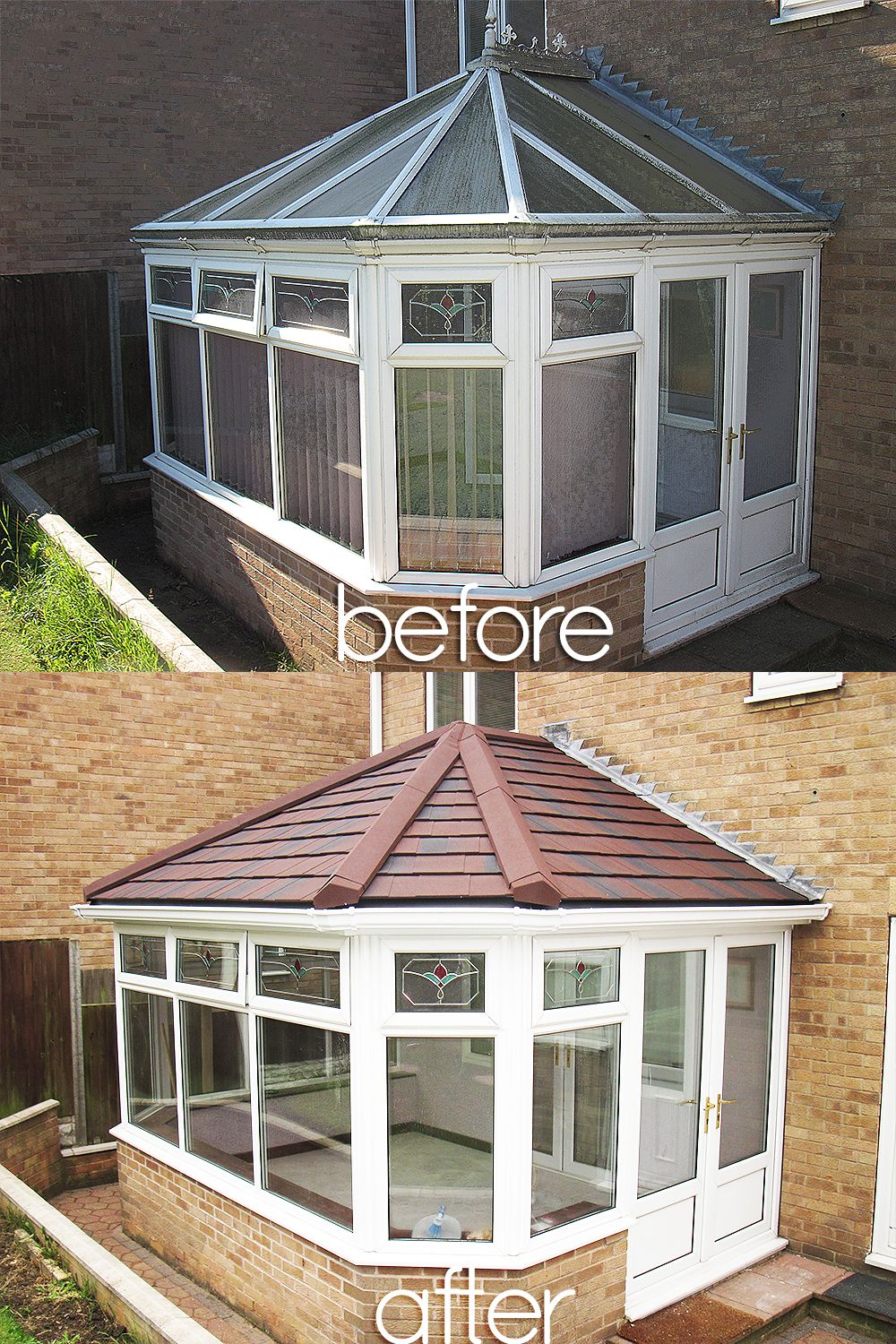 Beautiful Before And Afters Installations Of Supalite Roofing A Fantastic Light Weight Solution Offerin Conservatory Interior Outdoor Rooms House Inspiration