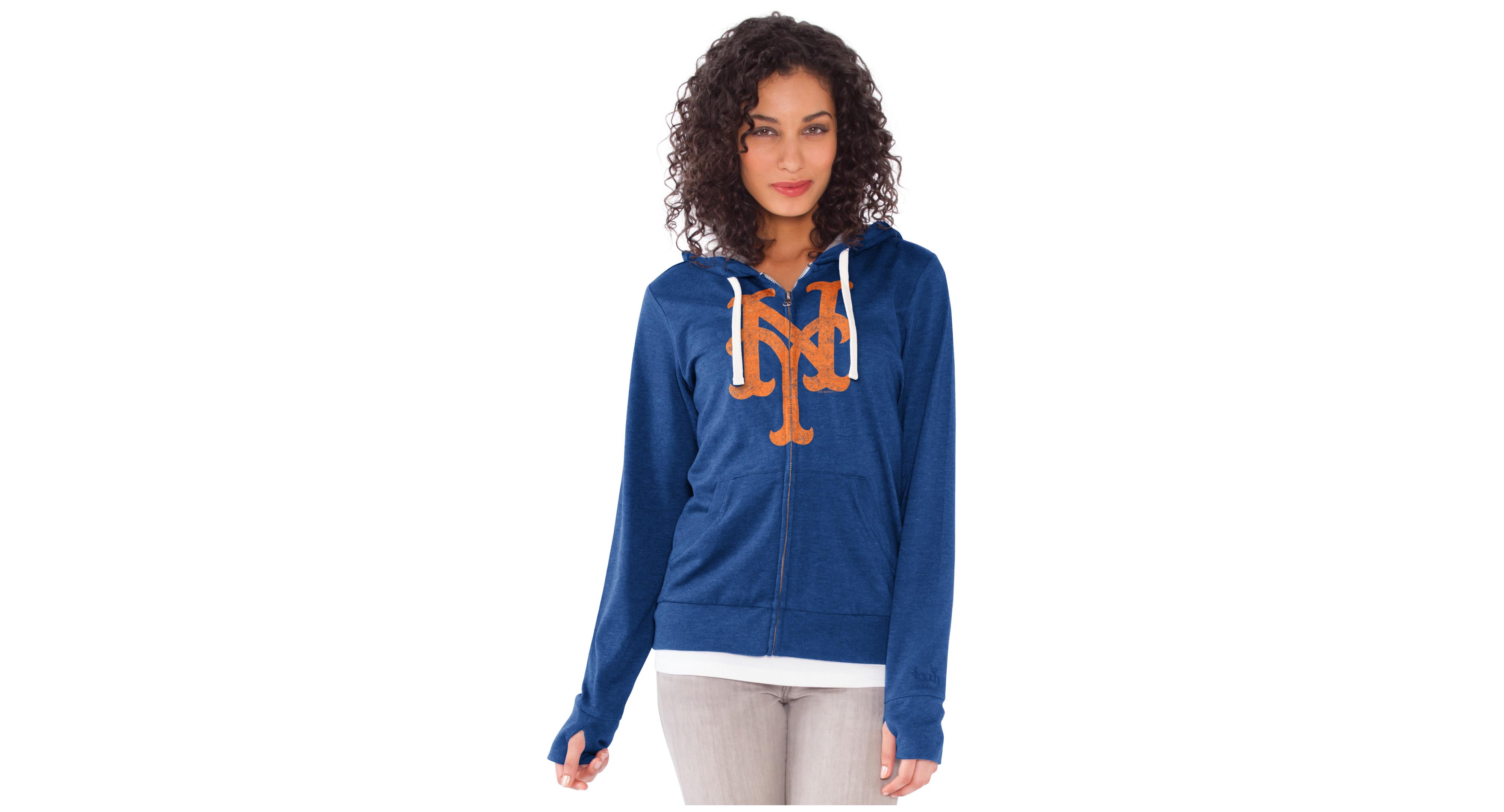online retailer d3f65 fecf7 G3 Sports Women's New York Mets All Star Zip-Up Hoodie ...