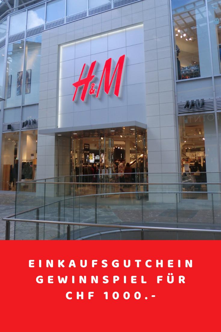 H&M Gutschein Gewinnspiel Fake