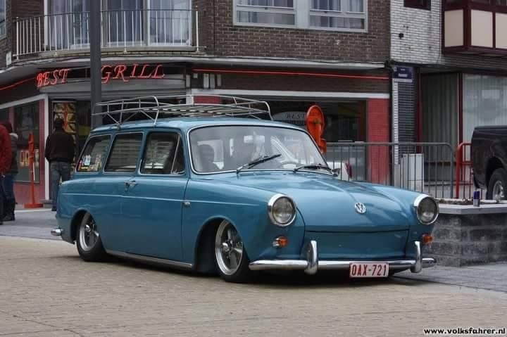 Low static '61 type 3 Squareback by Combicoxshop