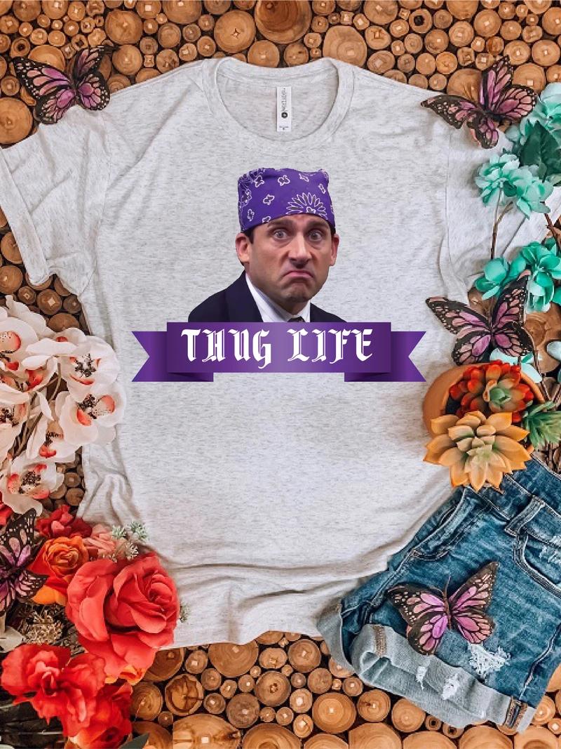 Prison Mike Thug Life Hippie Runner Thug Life Shirts Prison Mike Thug Life