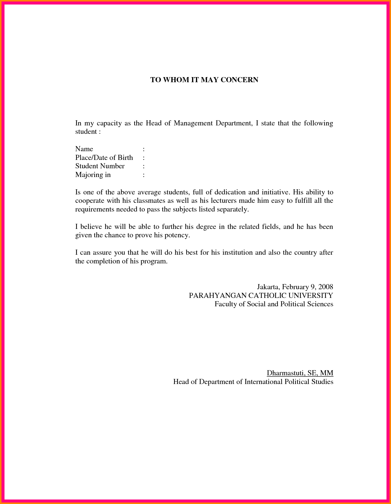 Cover Letter University Application Examples Address Resume
