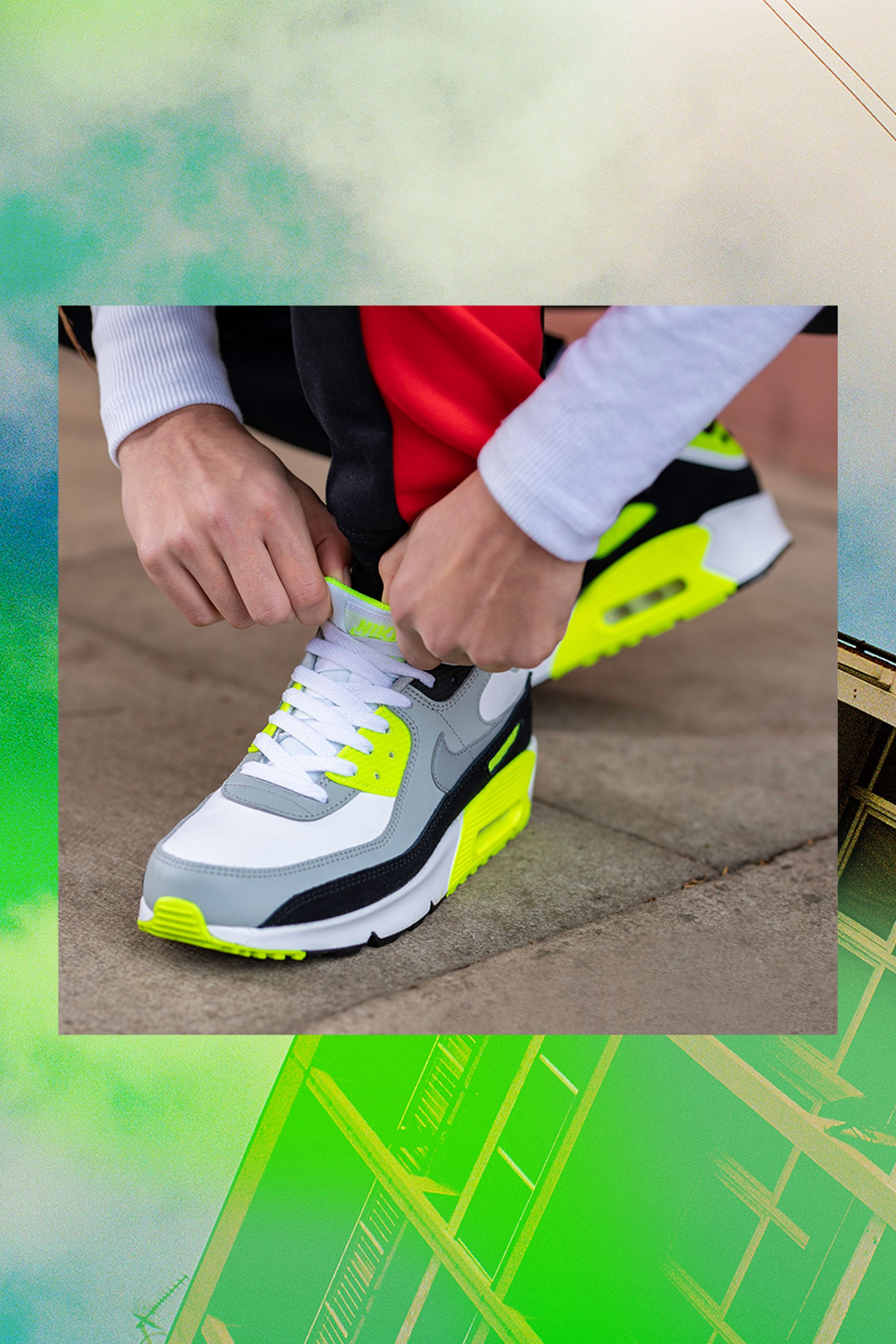 The Nike Air Max 90 was designed for those who go against