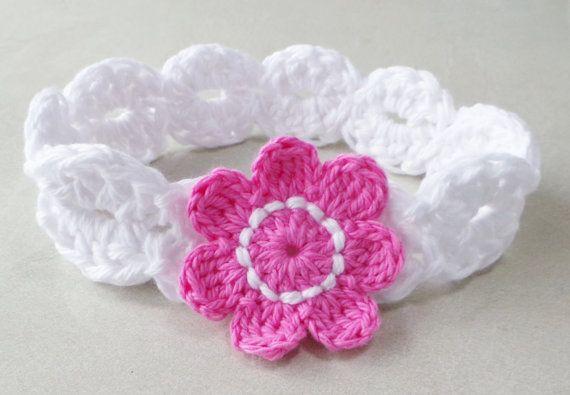 CROCHET HEADBAND Pattern BABYS headband pattern Girls headband ...