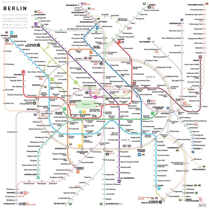 Metro De Berlin Mapa.Plan D Soluciones Creativas Mapas De Metro Del Mundo