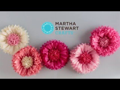 Tissue flower pom pom kit by martha stewart crafts youtube tissue flower pom pom kit by martha stewart crafts youtube mightylinksfo