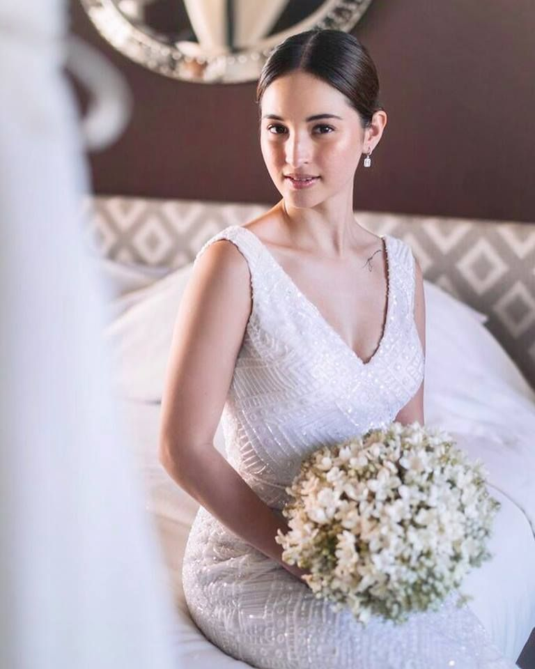 Real Glbride Coleen Garcia Crawford Is A Vision In Her Custom Lace