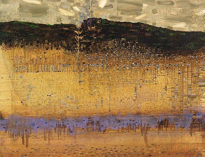 Anne Neely, Beneath, 2014 Oil on linen, 60 x 80 in.