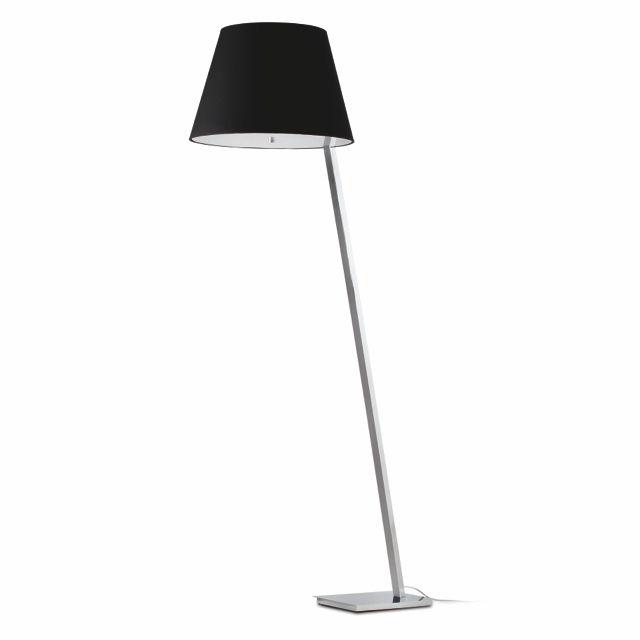 Lámpara de Pie negra para salón #decoracion #iluminacion ...