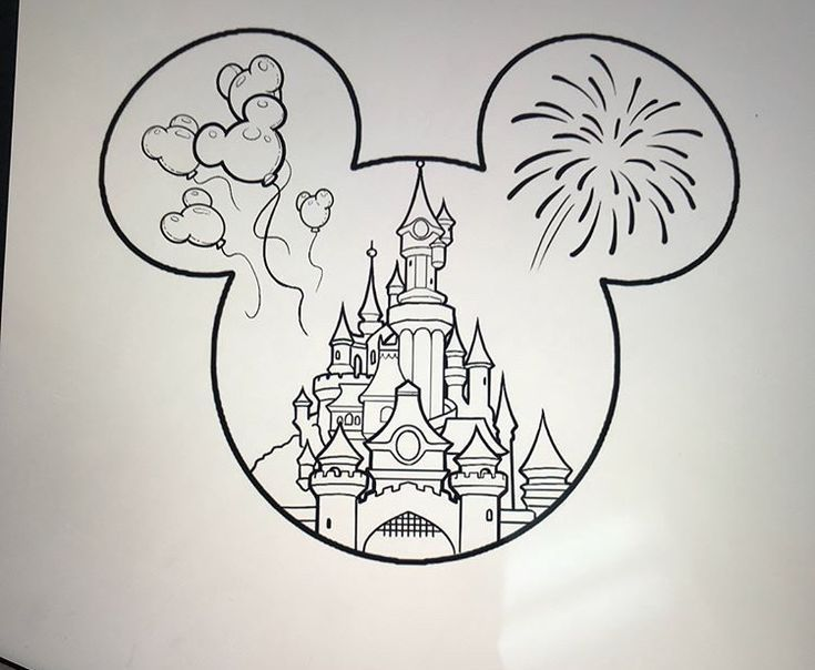 Photo of Disney castle tattoo –  Informations About Disney castle tattoo Pin You can easi…