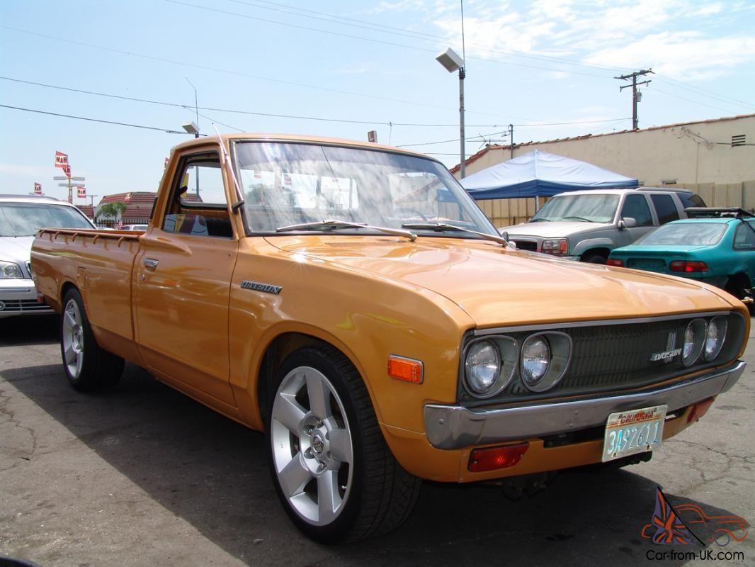 1975 Datsun 620 Series Pickup Datsun Datsun Pickup Nissan Trucks