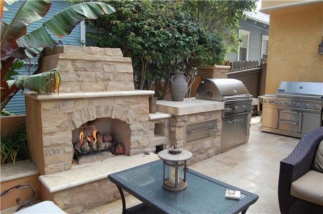 Built in outdoor grill designs gary bbq fireplace for Built in barbecue grill plans