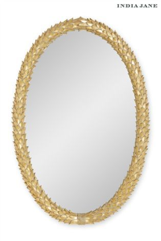 India Jane Laurel Mirror