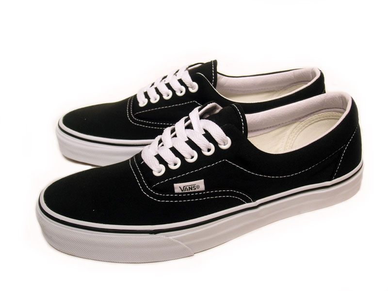 vans new era (vans era black white )