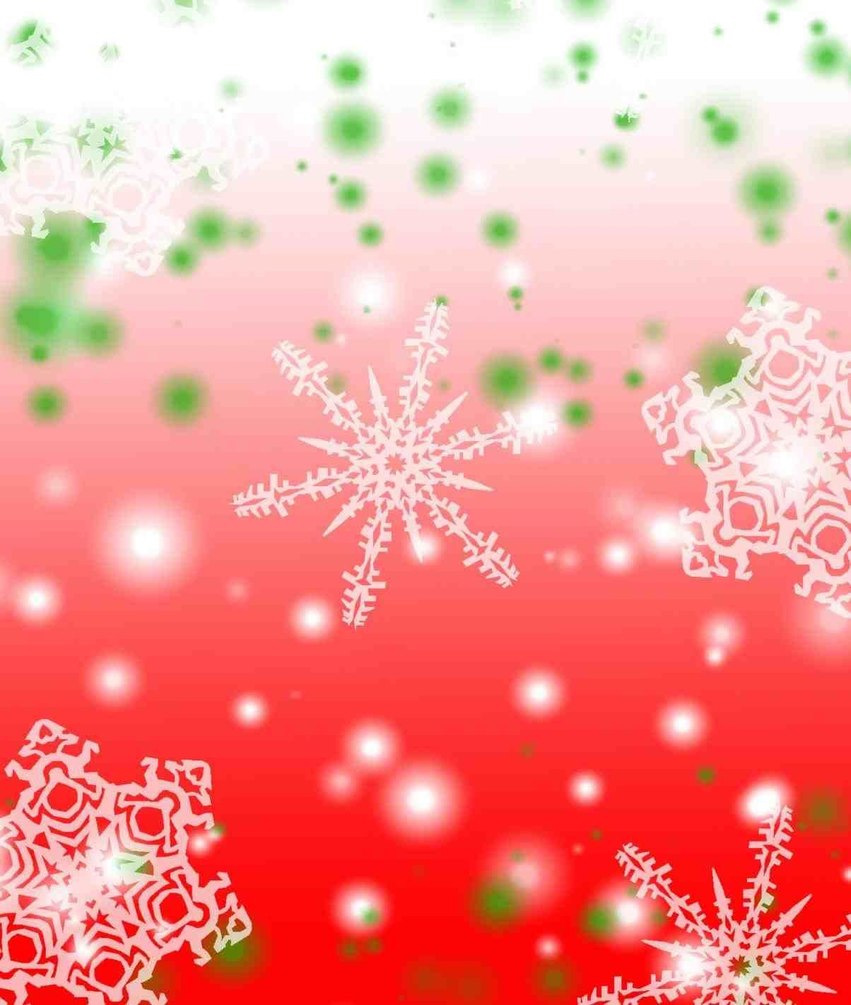 New Post Pink And Green Christmas Background