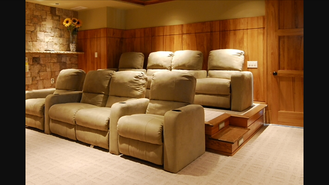 Home Theater Furniture Decor Best Rooms