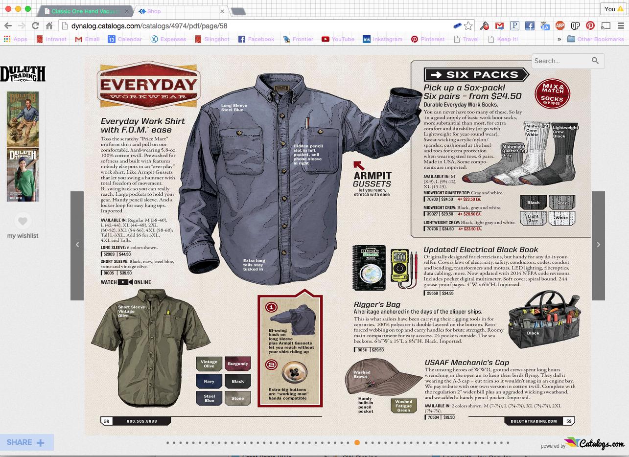 duluth trading company catalog clothing trading company
