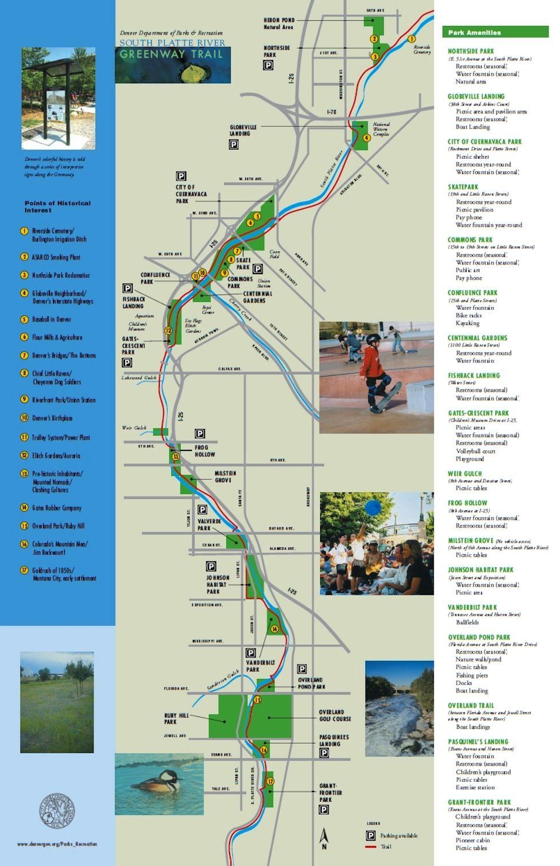 Denver south platte river fishing map why we love denver for South platte fishing report