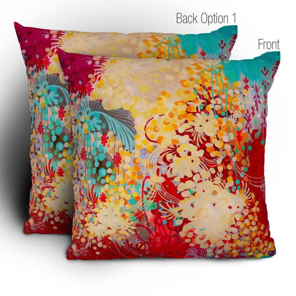 Stephanie Corfee Young Bohemian Throw Pillow