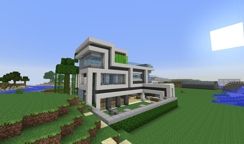Modern Minecraft House | Minecraft ideas | Pinterest | Minecraft ...