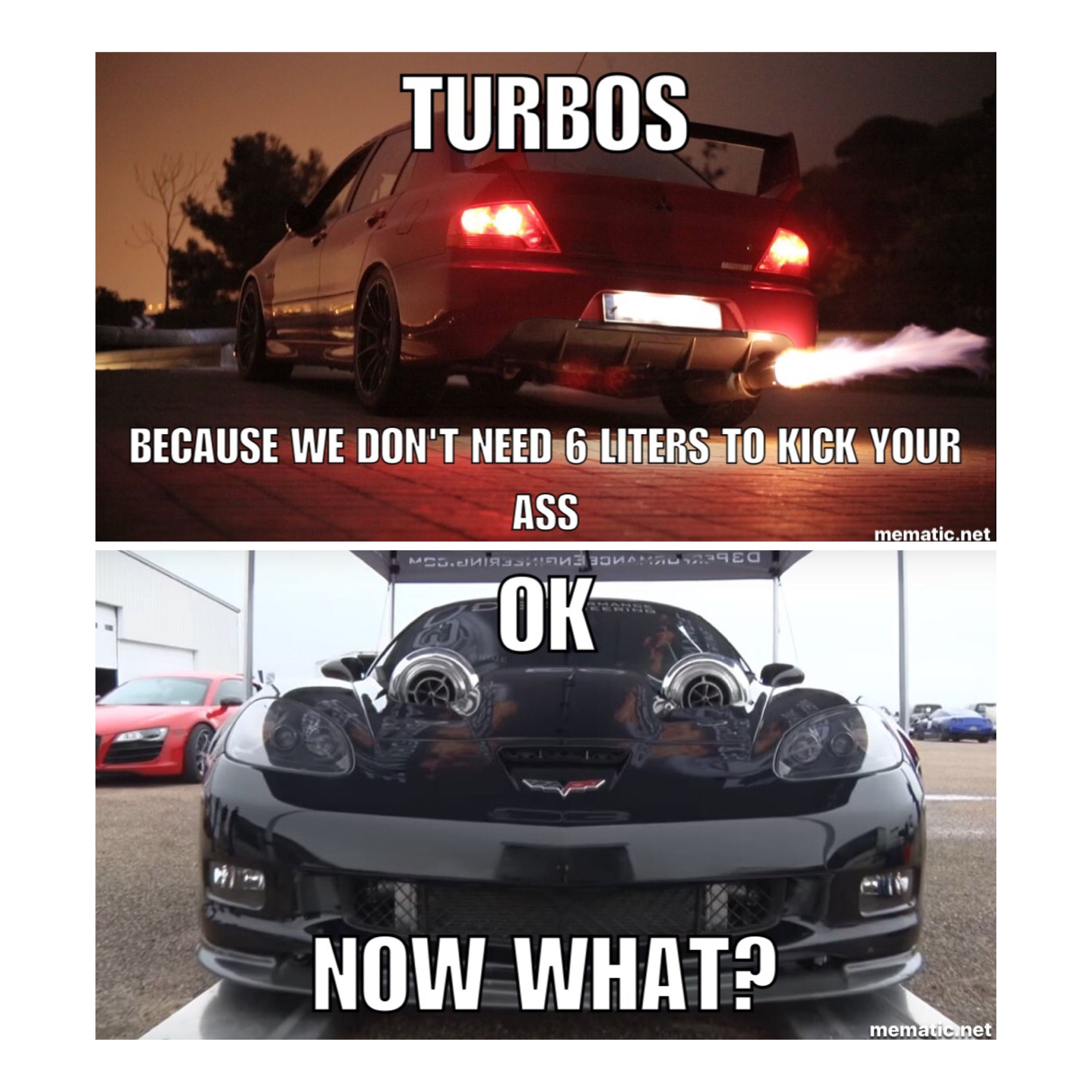 Boosted V8 #musclecarmemes Car Memes