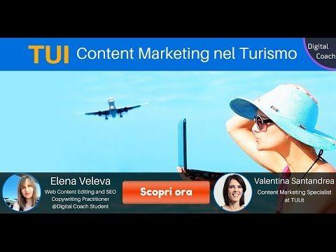 TUI: Content Marketing nel Turismo - YouTube