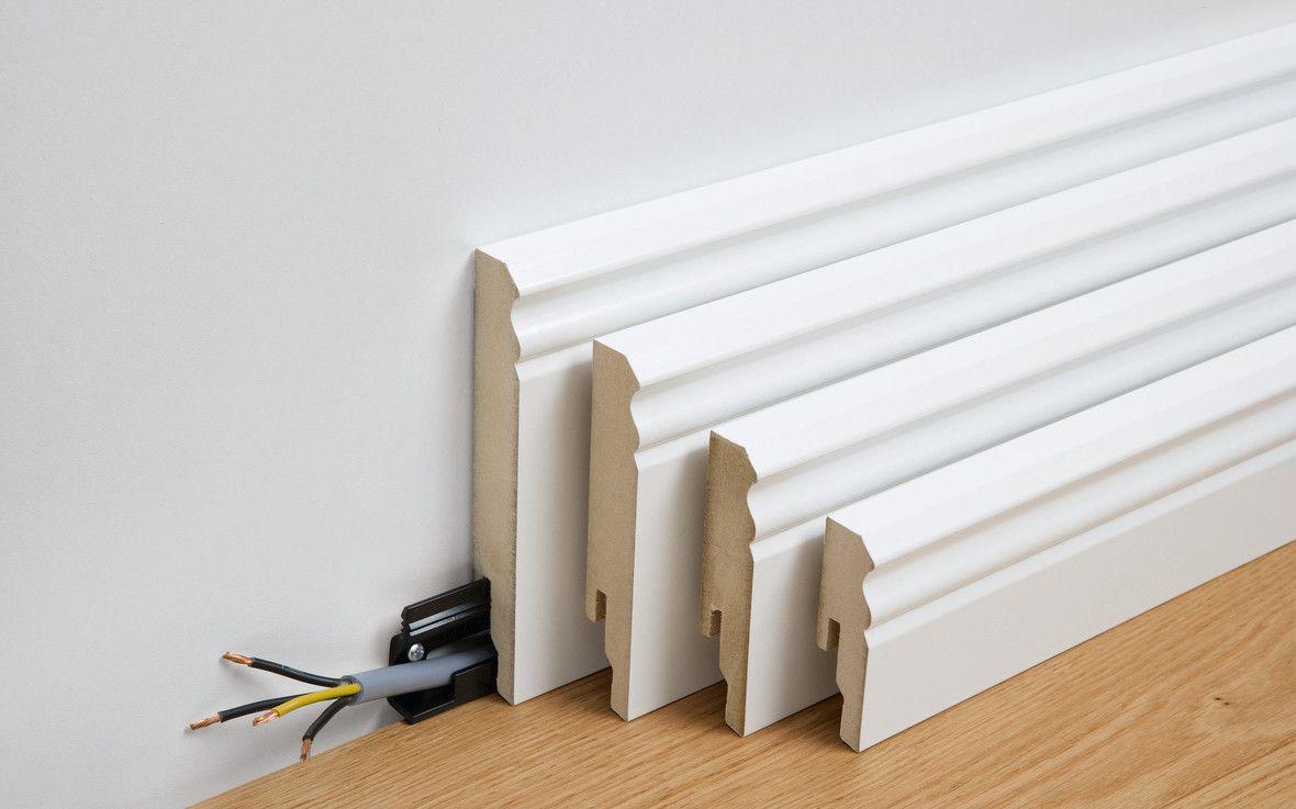 Comment Fabriquer Des Plinthes En Bois plinthe profilé 10 pk | plinthe electrique bois, plinthes
